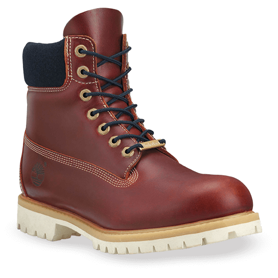 red mens timberland boots